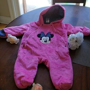 Baby Minny Mouse coat